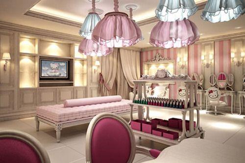 World's First Hello Kitty Beauty Spa in Dubai