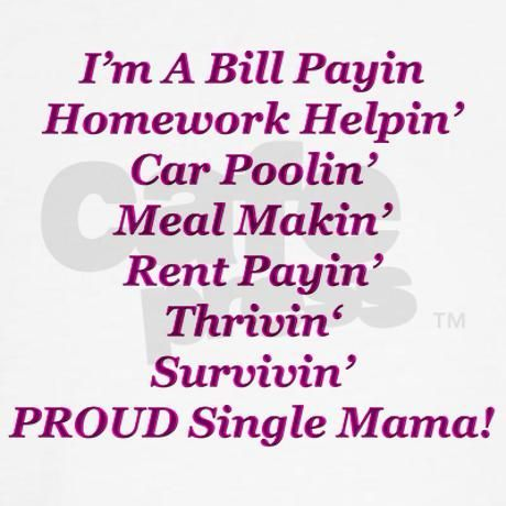Proud Single Mama Hoodie On Cafepresscom Singlemama Single Mom