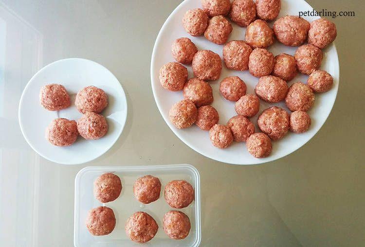 recetas para perros albondigas carne zanahoria