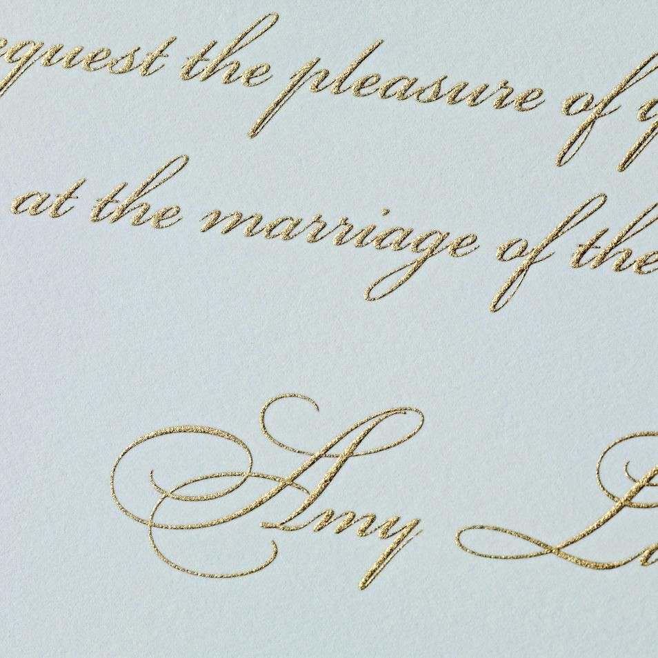 hand engraved symphony in summer invitation strings horns winds
