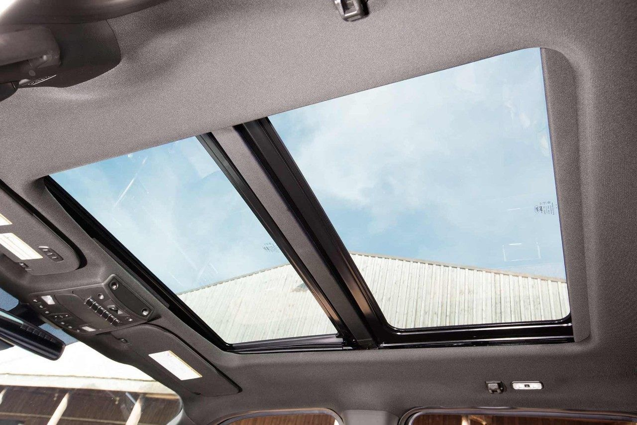 Available Twin Panel Moonroof In The 2018 Ford Super Duty Crew Cab