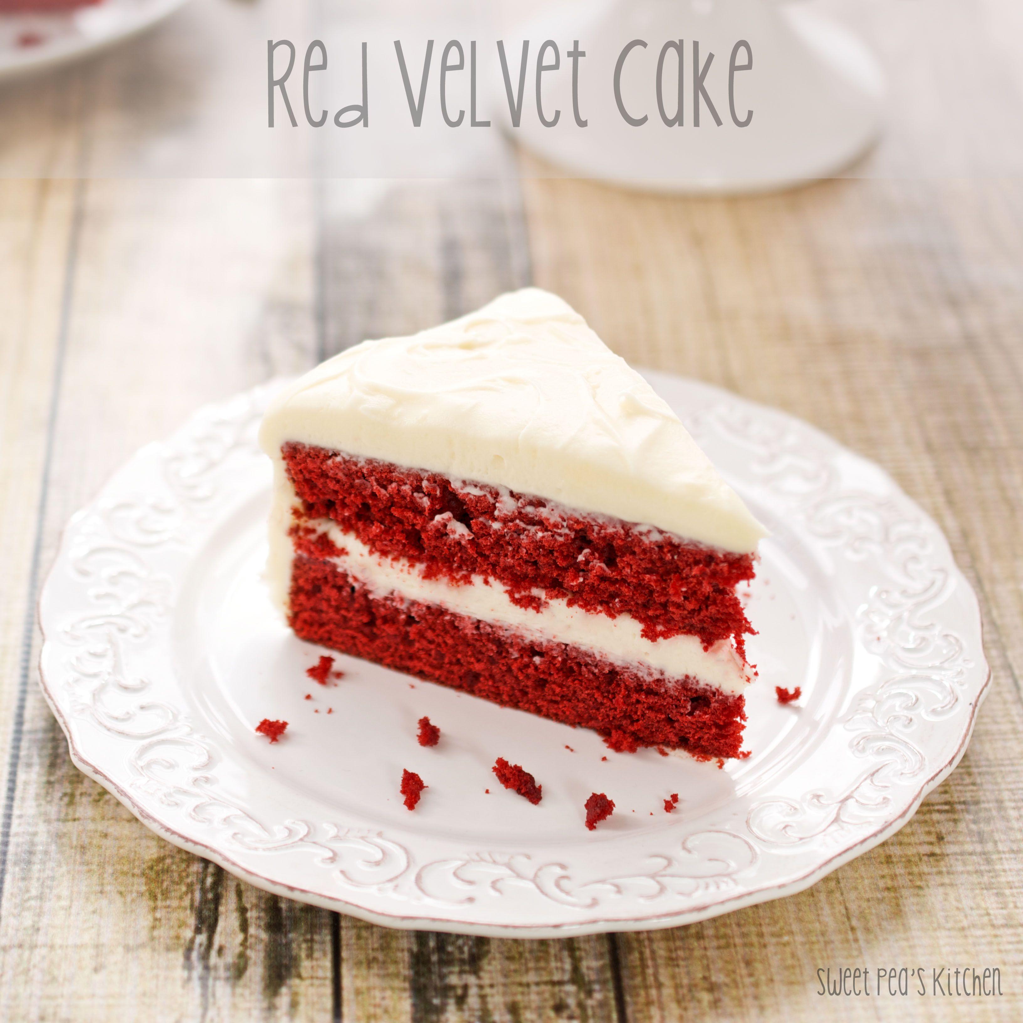 Red Velvet Cake with Cream Cheese Frosting Red velvet Cake and