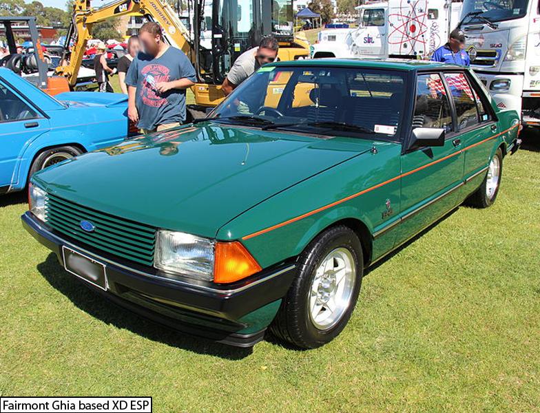 Green Ford Falcon Xd Esp Ford Falcon Australian Cars Aussie Muscle Cars