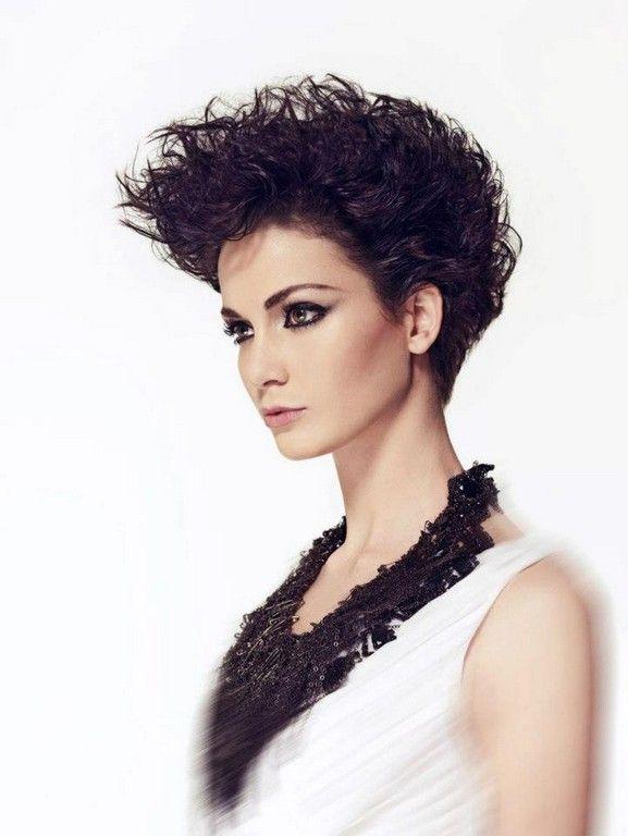 Short Punk Hair | Haircuts for curly hair, Short punk hair ...