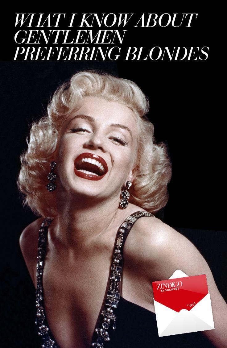 Blonde wants a man Crazy