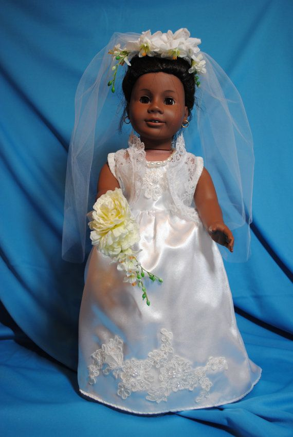 Wedding Gown by AubriesToybox on Etsy