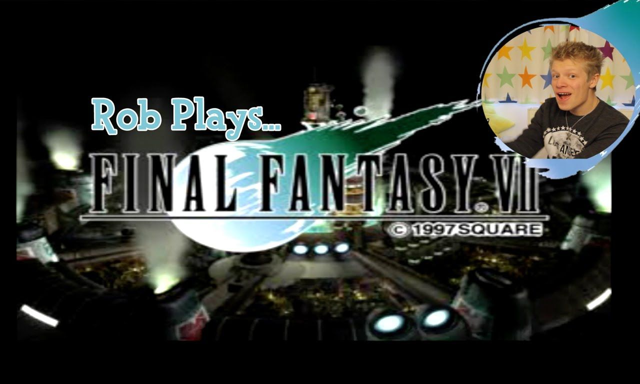 My first gaming video of 2016! Watch me attempt Final Fantasy VII for the first time! :D
