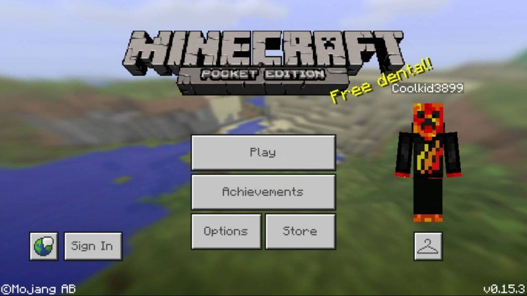 jogo do minecraft pocket edition