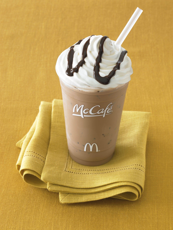 Mmmmmmmmm One Of My Fav S Iced Mocha At Mcdonald S Photo Only Resep Es Krim Es Krim Resep
