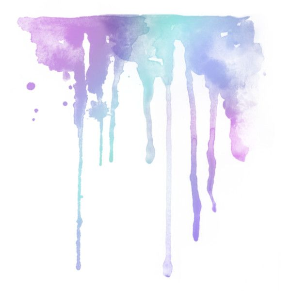 Watercolor Splashes Liked On Polyvore Watercolor Splash Drip