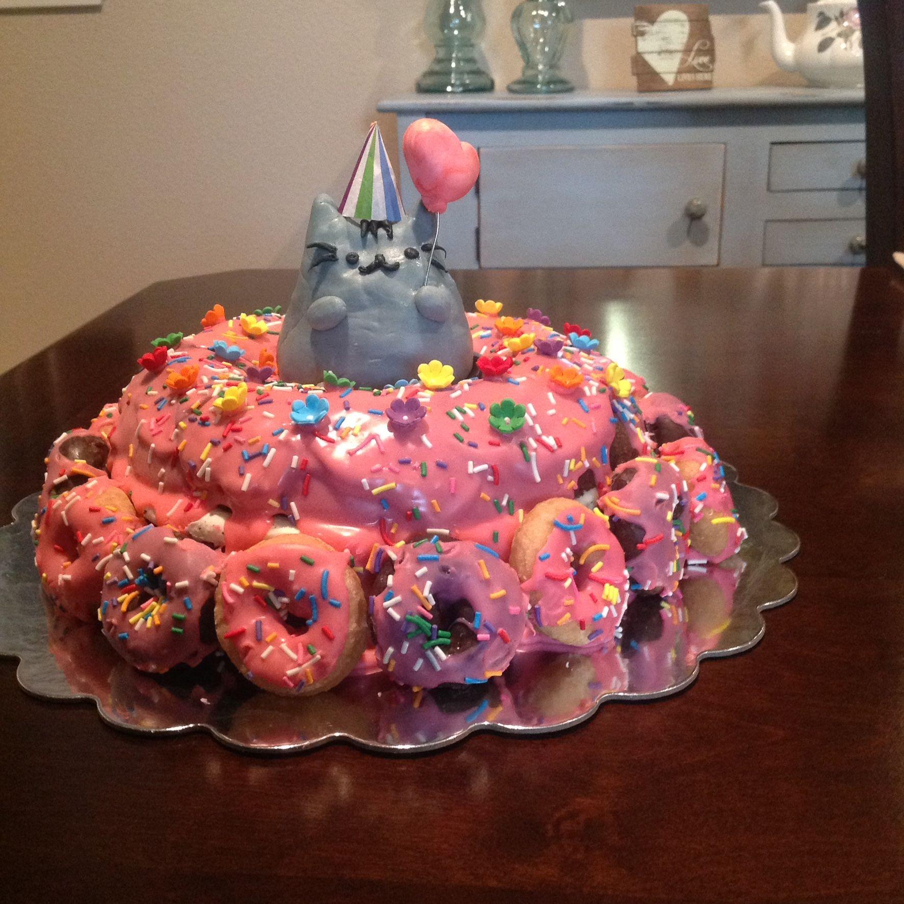Kaitlyns 9th Birthday Pusheen Cat Whoopie Pie Cake