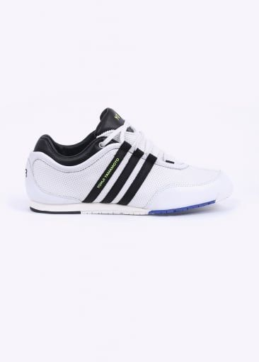 adidas white leather trainers yohji