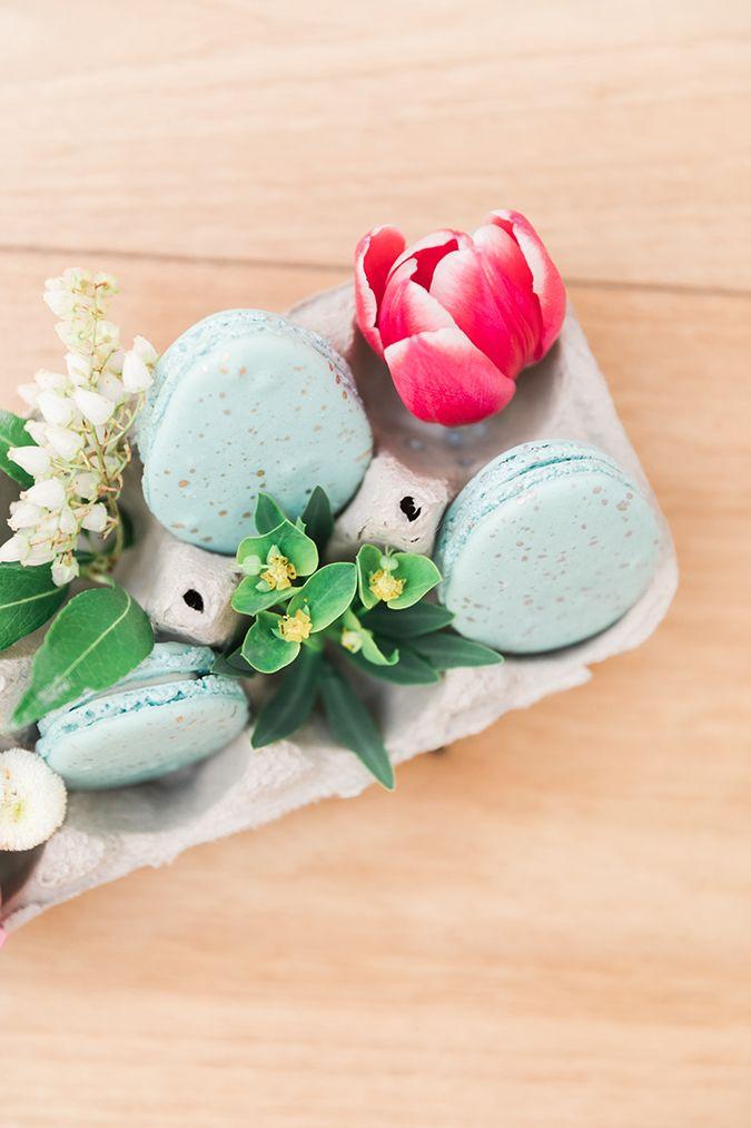 How to make robin blue egg macarons for Easter