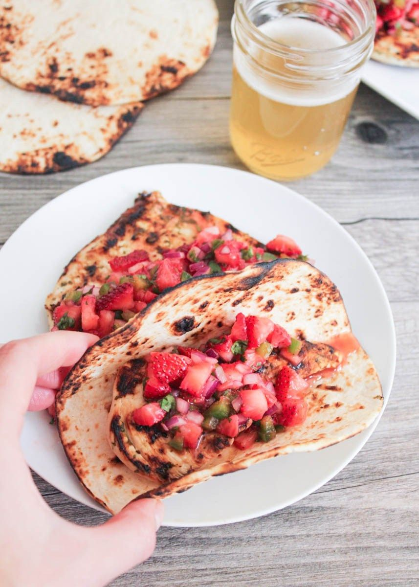 Cilantro Lime Chicken With Strawberry Jalapeno Salsa 9 Clean Eating Recipes Cilantro Lime Jalapeno Salsa