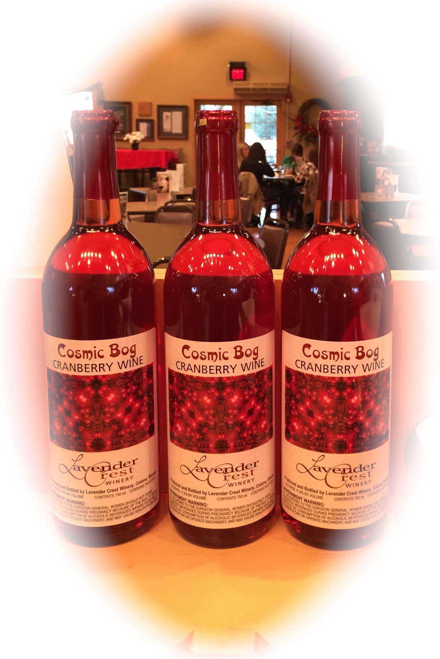 Cosmic Bog Sweet Cranberry Wine Cranberry Wine Award Winning Wine Cranberry