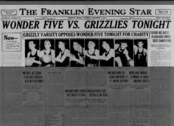 FRANKLIN, Indiana - Search and browse historical pages from the The Franklin Evening Star newspaper. The Franklin Evening Star was published in Franklin, Indiana and with 108,781 searchable pages from