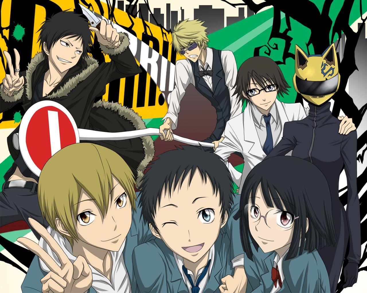 Durarara!! Durarara, Anime, Manga anime