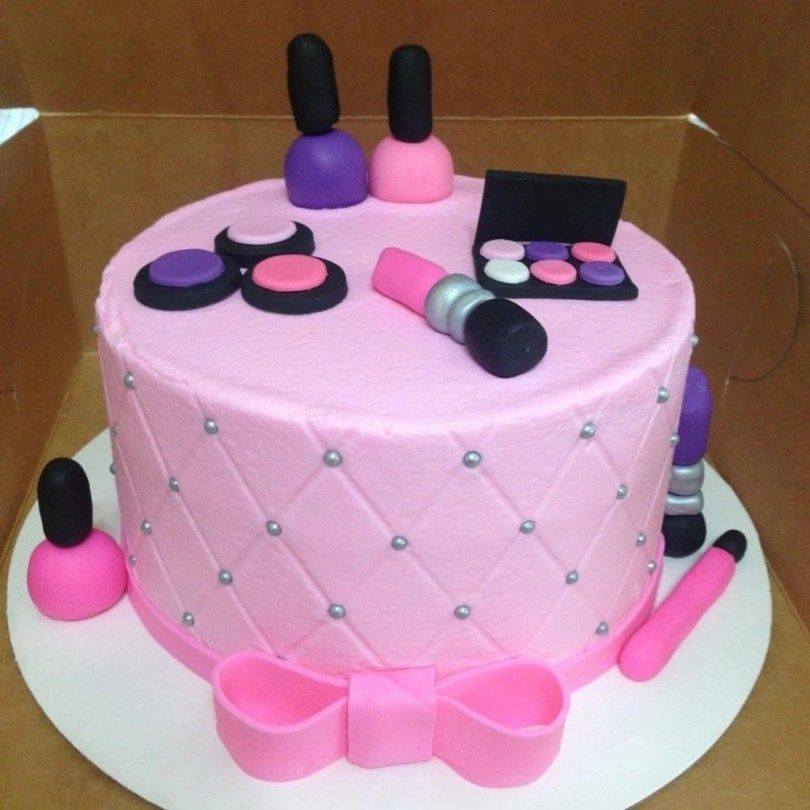 Sprinkles And Bows With Images Cake Designs Birthday 14th