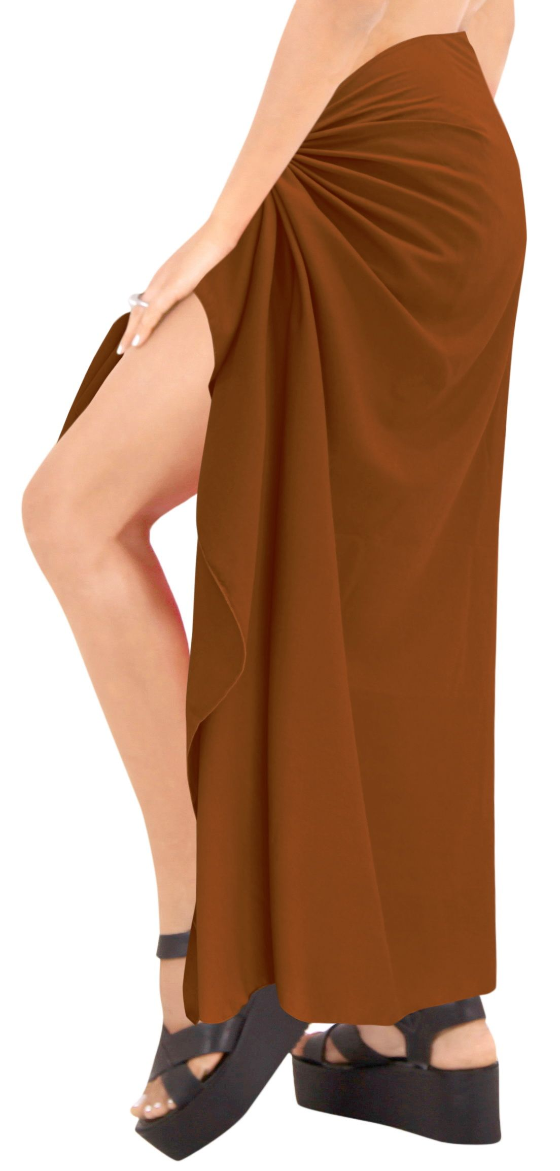 c7d4373aa7efb Sarong Wrap Beachwear Bathing Suit Swimwear Swimsuit Cover ups Pareo Skirt  Women Bathing