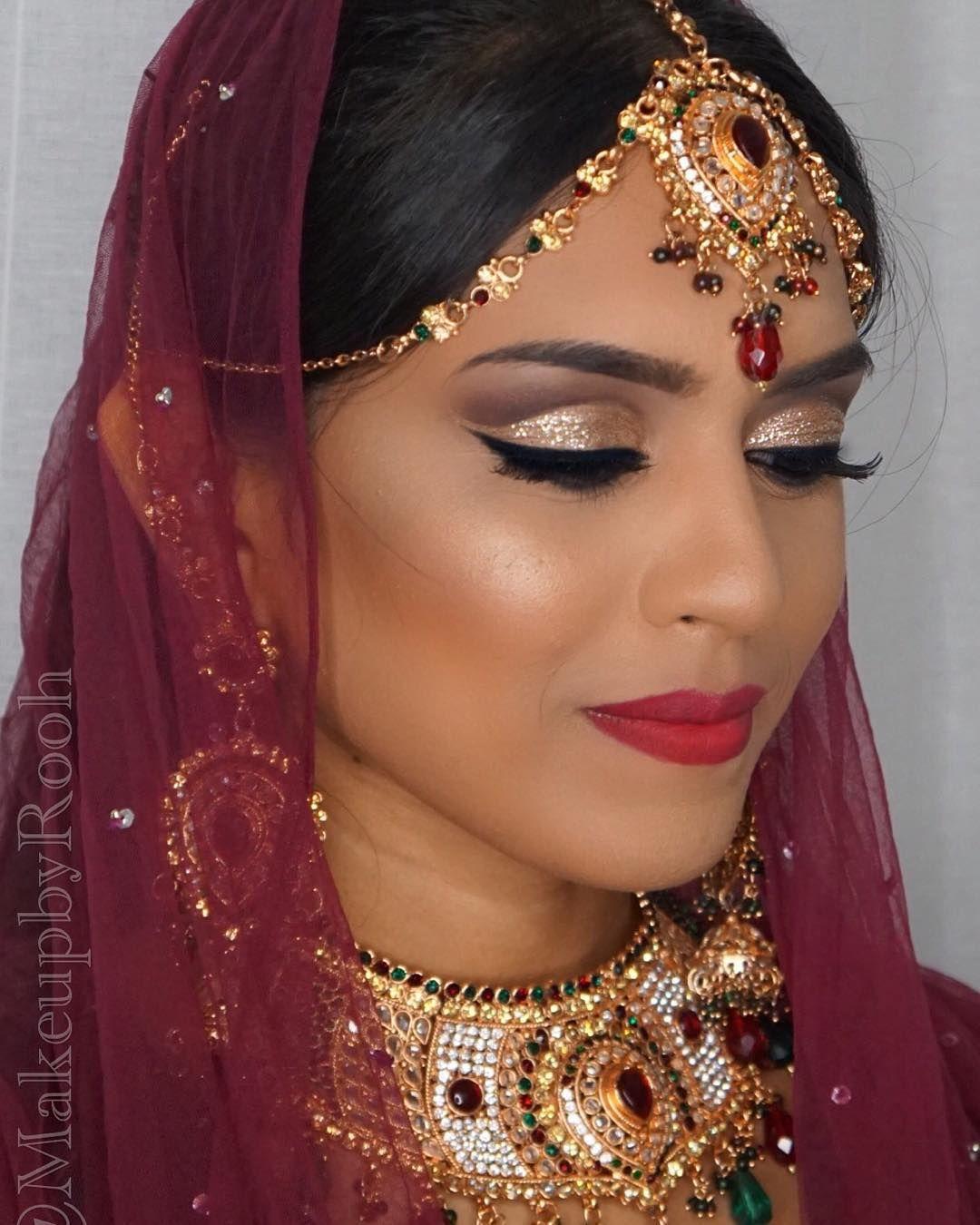 Beautiful Indian bride wearing royalvintagecouture