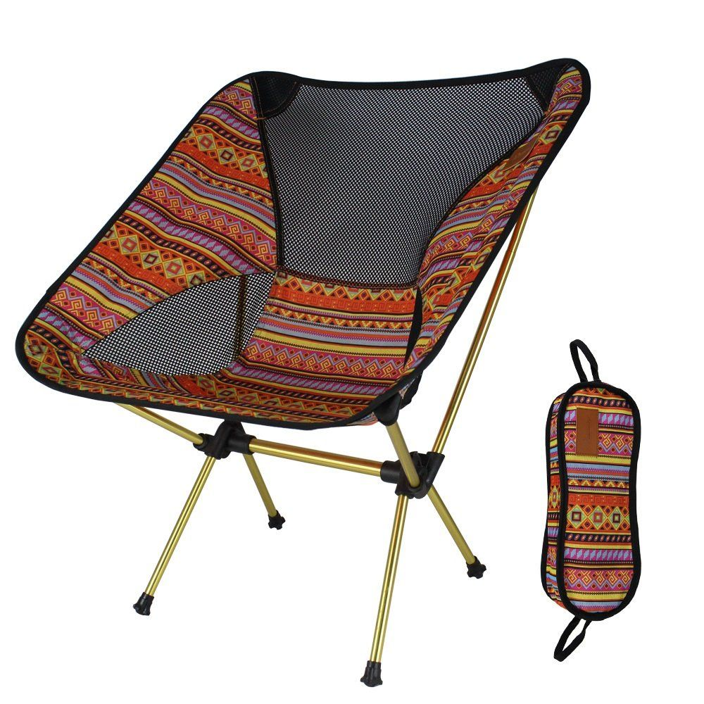 Ultralight Portable Folding Camping Chairs Portable Compact For Outdoor Camp Travel Beach Picnic Festival Hiking Lightwei Backpacking Chair Camping Chairs