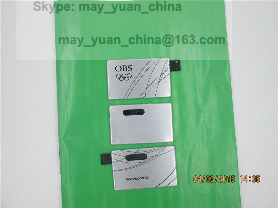 Metal business cards USB Flash Disky. may_yuan_china at 163.com ...