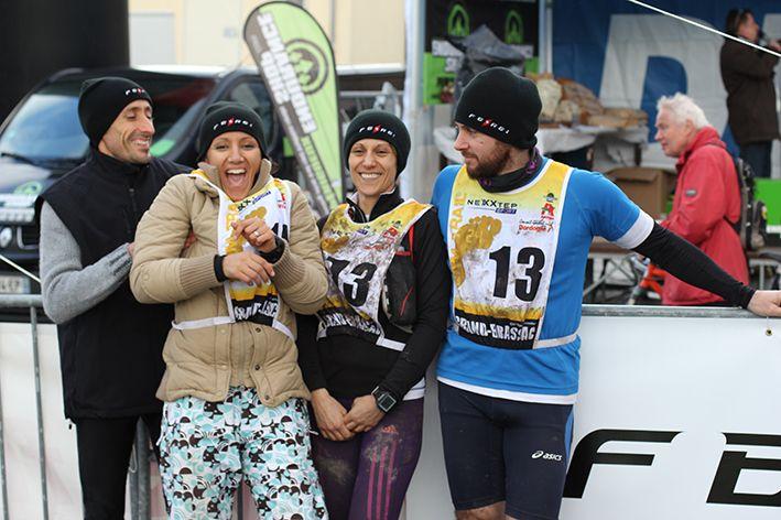 Trail du Grand Brassac, team Ferei France