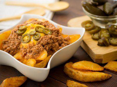 Receta de papas nacho meal ideas pinterest meal ideas food food forumfinder Image collections