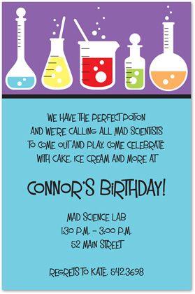 Science party invitations kids birthday invitations girls boys bo science party invitations kids birthday invitations girls boys boys girls sweet 16 invitations filmwisefo