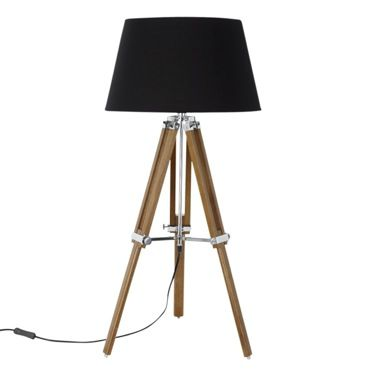 Wood Paul Costelloe Living Tripod Table Lamp  Interiors Inspiration Cheap Table Lamps For Living Room Review