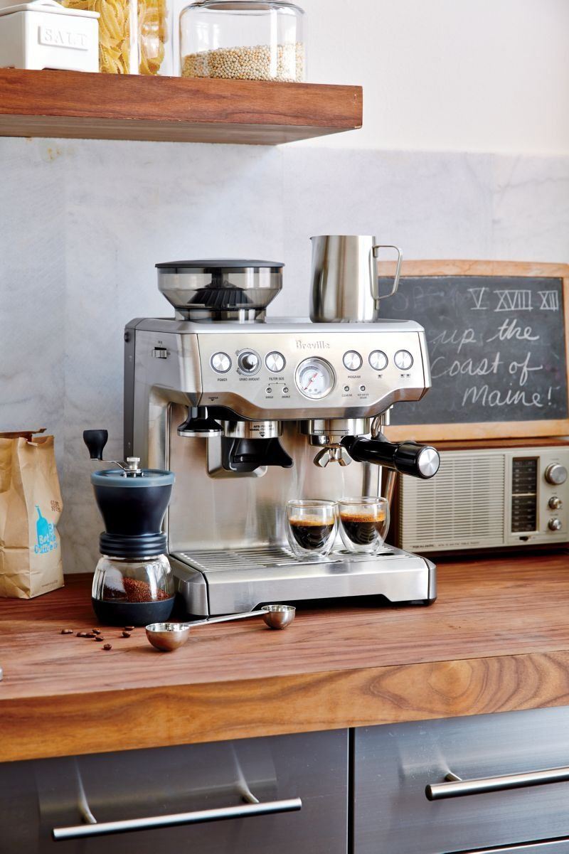 Breville Barista Express My New Favorite Toy Machine A Cafe Machine Expresso Cuisine Salle A Manger