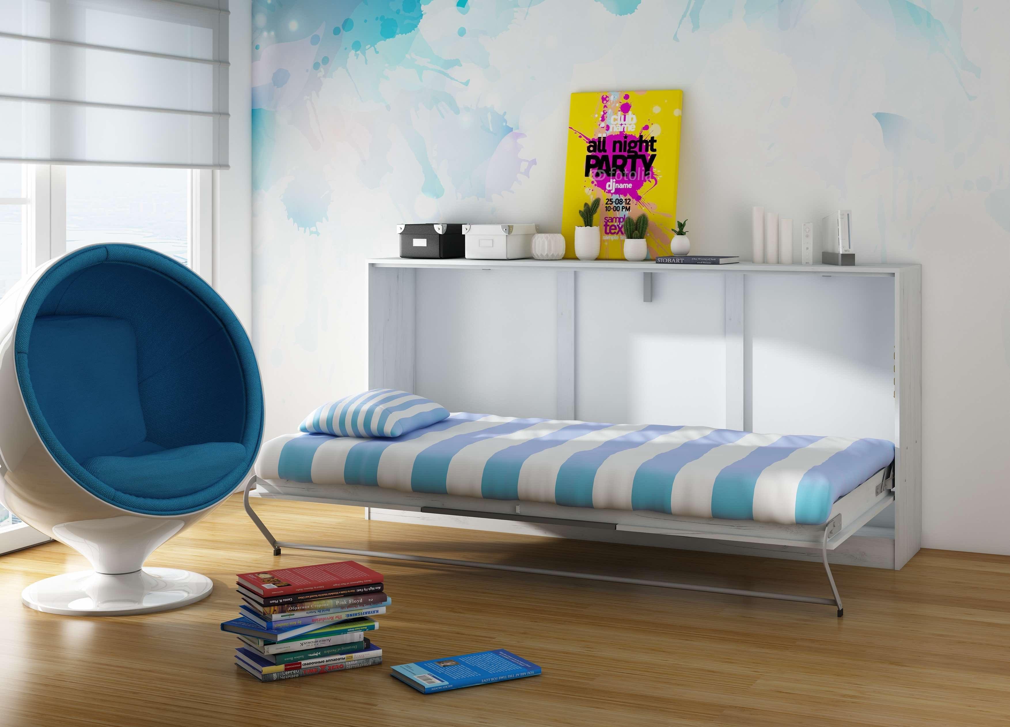 Zložljiva postelja ROGER več barv Wall folding bed
