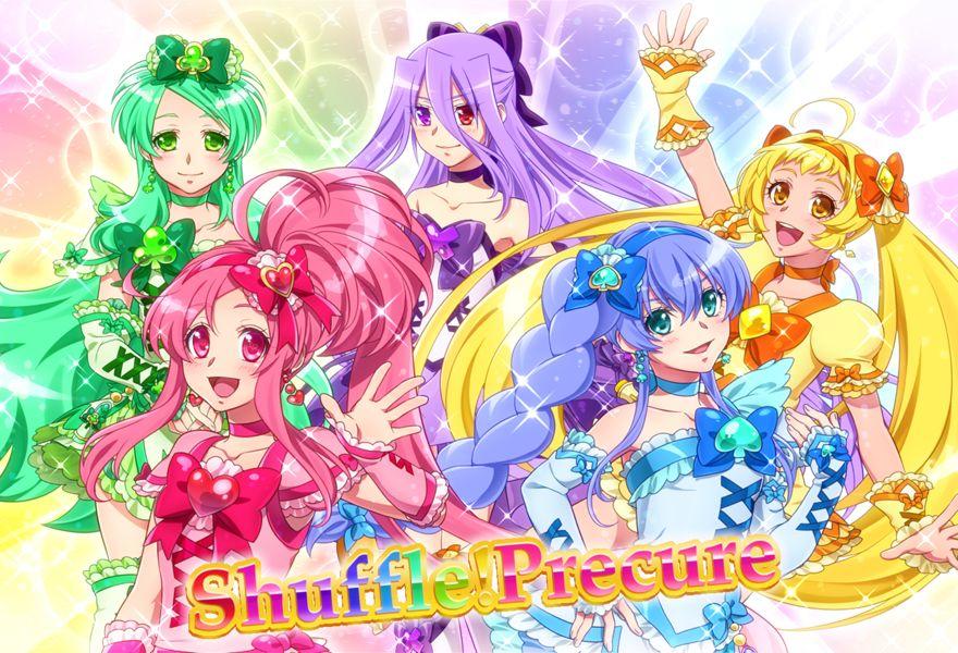 Shuffle Precure 1694825 Zerochan With Images Magical Girl