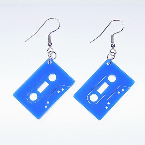 tape earrings