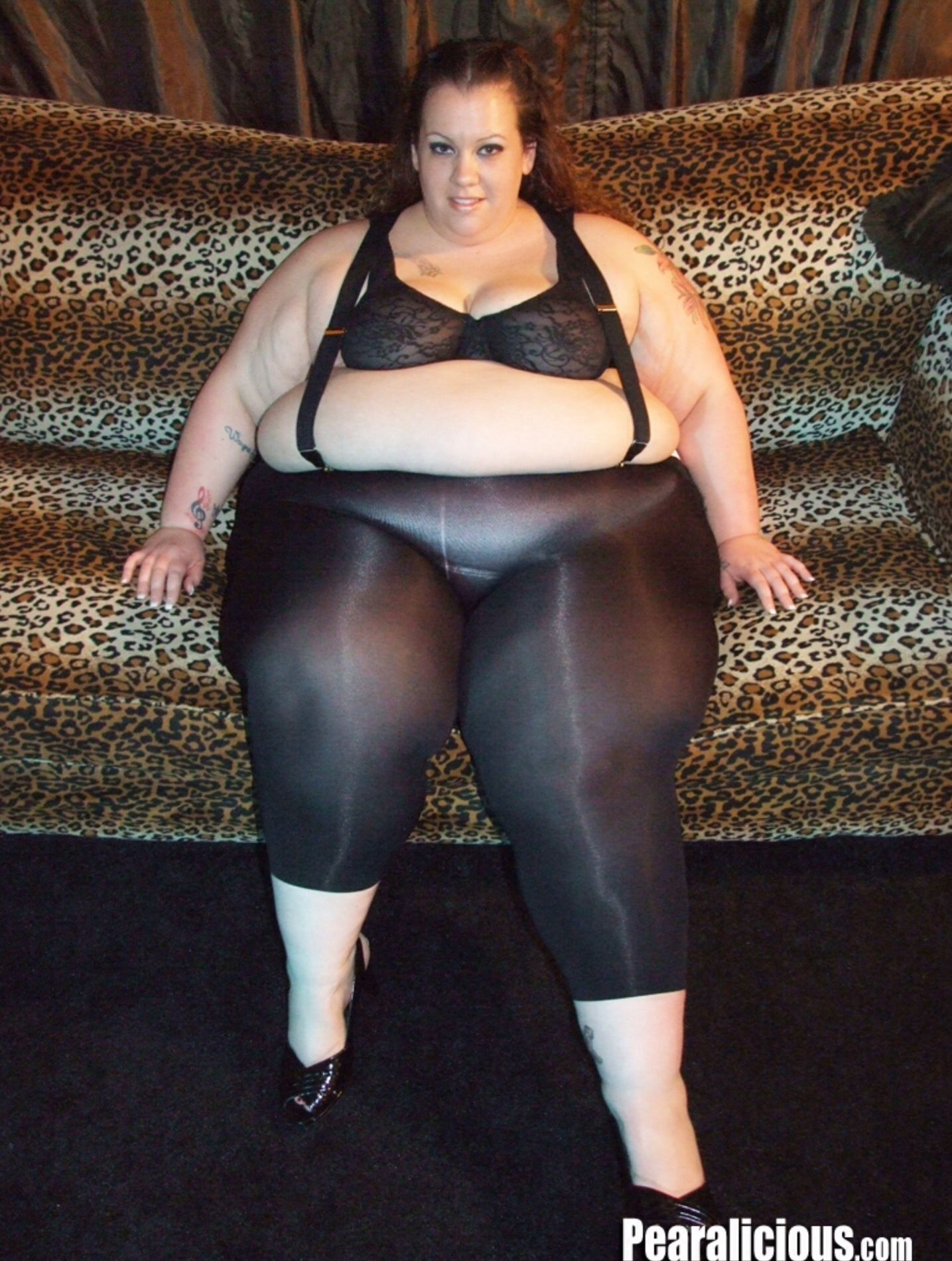 Bbw fat girls spandex-9323