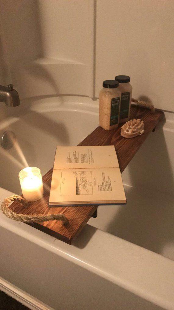 Bath Tub Caddy #bathroombathtubawesome | bathroom | Pinterest | Bath ...