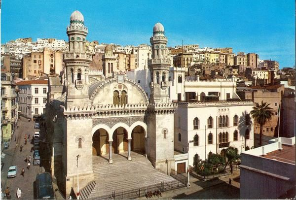Ketchaoua Mosque Algeria Mosque Architecture Old Algiers