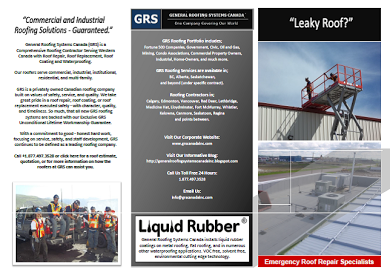 Grs Commercial And Industrial Roofing Brochure