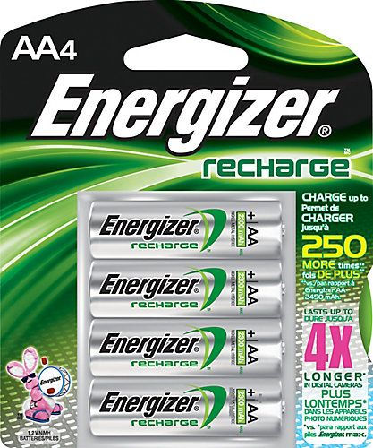 Energizer Rechargeable Is The World 39 S 1 Rechargeable Battery Because It Can Be Recharged Hundreds Of T Energizer Battery Rechargeable Batteries Energizer