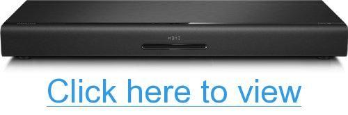 NFC 80W Integrated Sub Surround Base w Blu-ray Philips HTB3525B Bluetooth