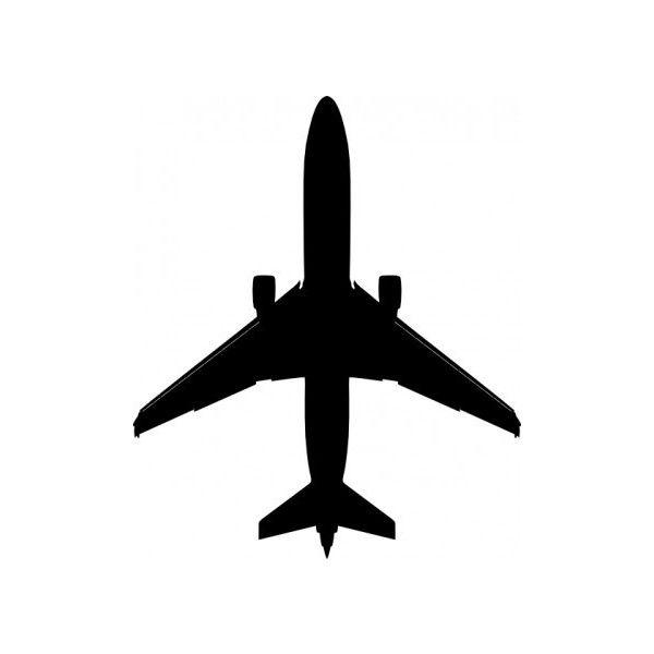boeing plane silhouette clip art vector clip art free vector for rh ro pinterest com