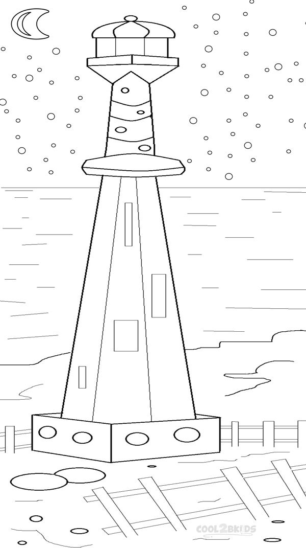 Printable Lighthouse Coloring Pages For Kids | Cool2bKids ...