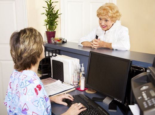 This certificate program is designed to prepare participants for - medical receptionist