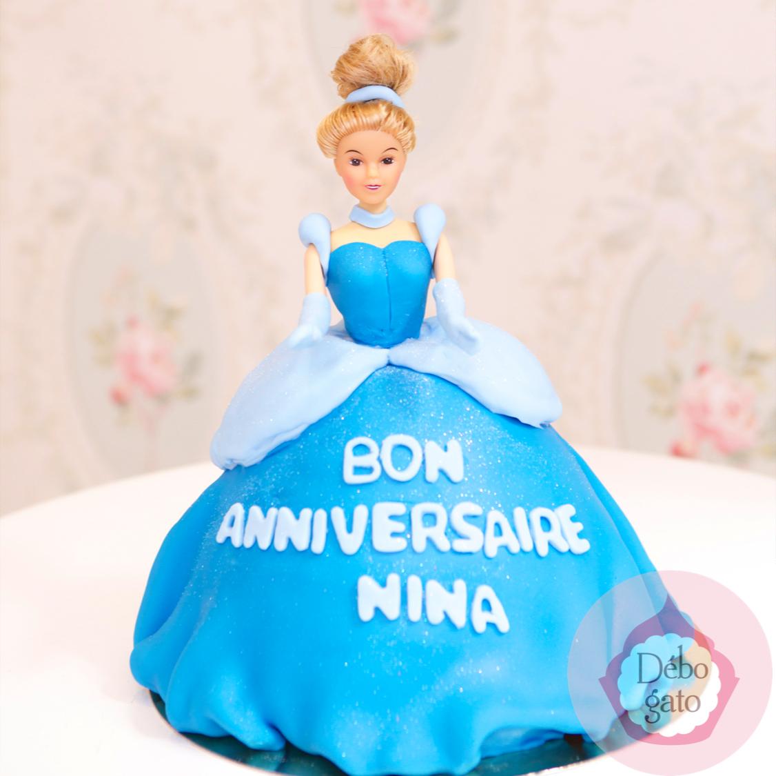 Gateau d'anniversaire princesse paris