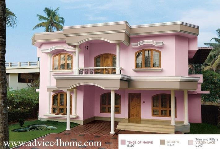 Pin By Sruthi Sankar On Exterior Color Combination Exterior House Colors Beautiful Houses Exterior Exterior Color Combinations