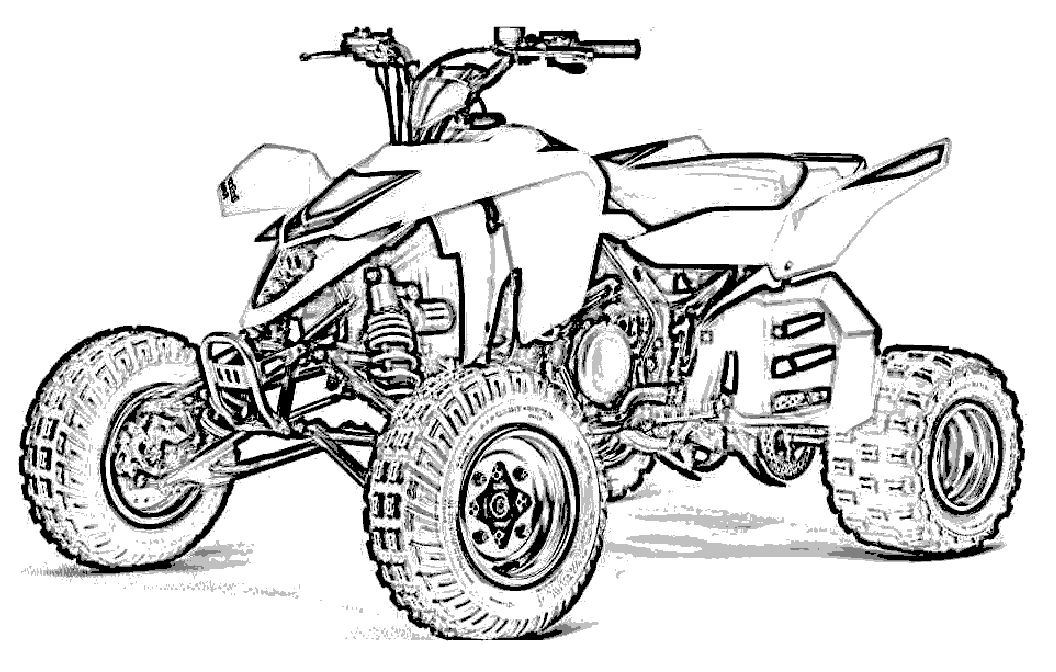 Motor Off Road Coloring Page Cars Coloring Pages Pinterest