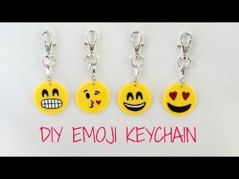 Making All 56 Smiley Emojis Diy Polymer Clay Tutorial Youtube Emoji Diy Diy Keychain Emoji Craft