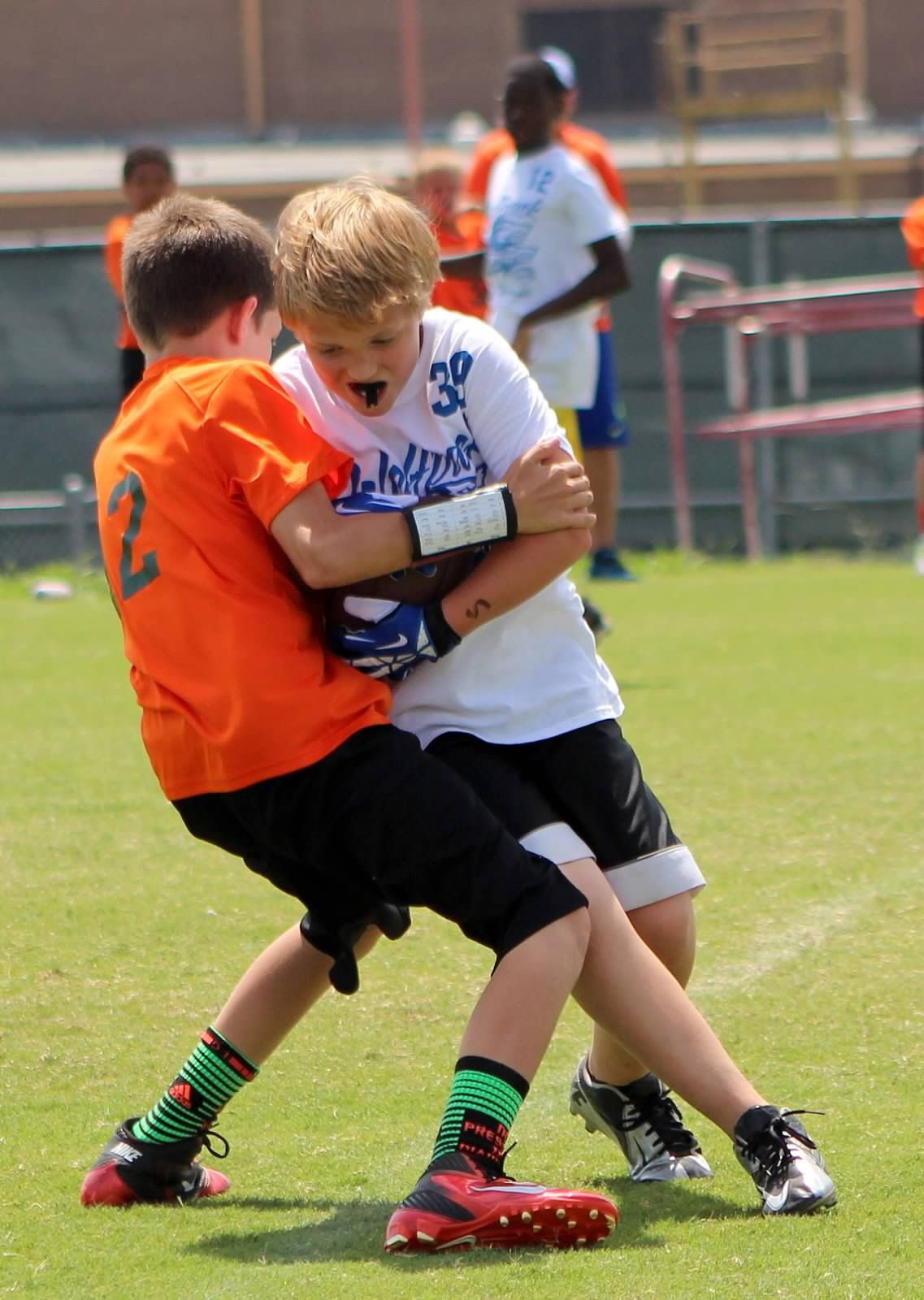 7 On 7 Football Season Update Youth Football Little League Football Football Coach