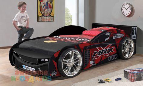 Mrx Car Bed No 81 Black Kids Car Bed Race Car Bed Kid Beds