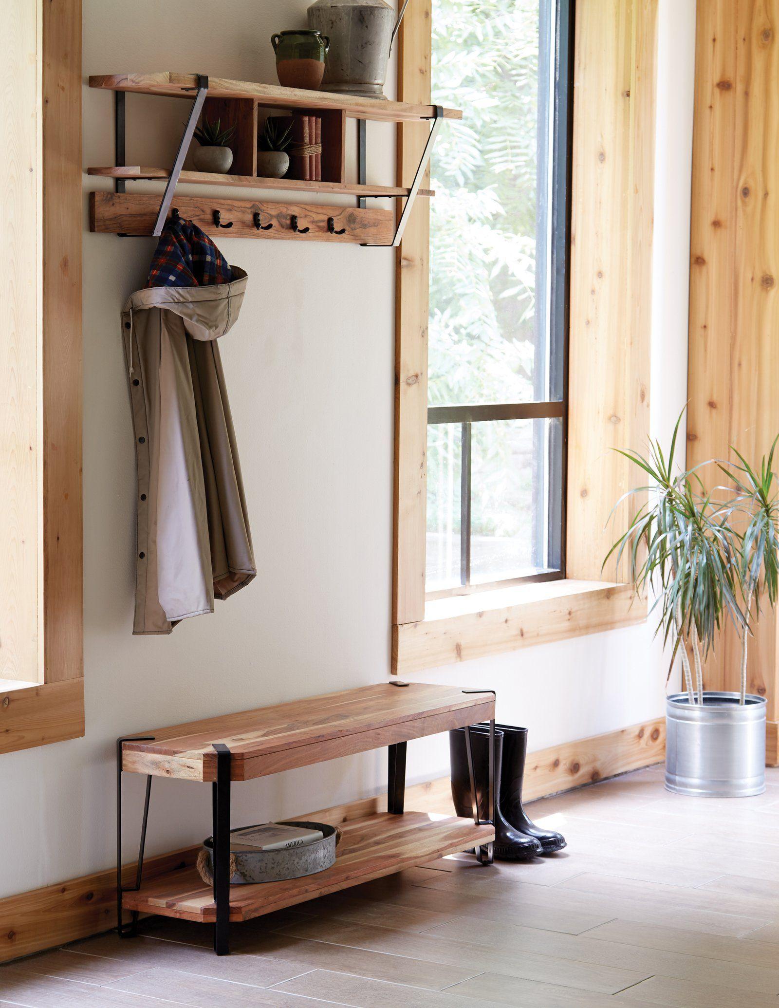 wall mounted coat rack